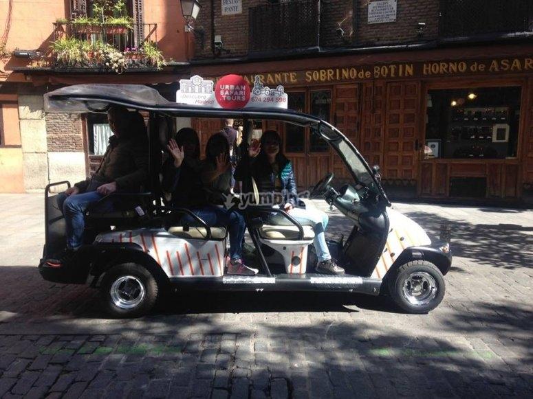 Paseo en buggy 5 personas