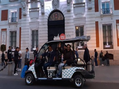Tour buggy centro de Madrid y alrededores 3 h
