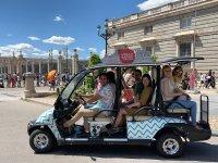 Recorriendo Madrid en buggy