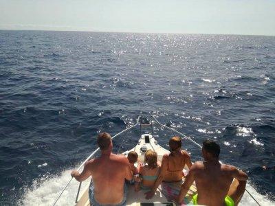 Paseo en barco Cueva Bonita de La Palma y snorkel