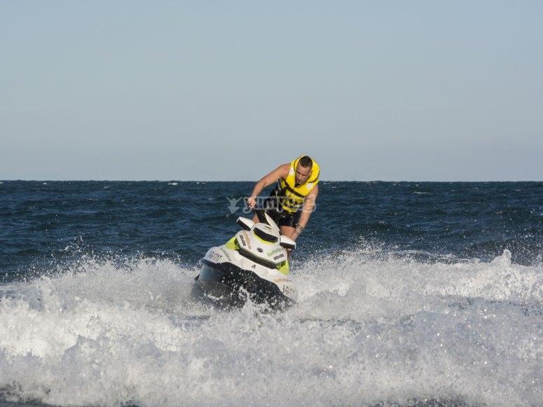 Circuito moto de agua norte España