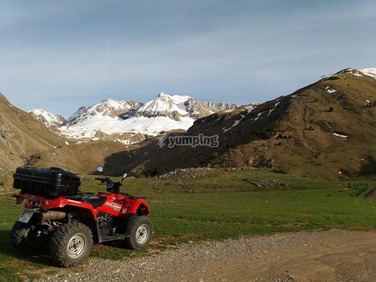 Quad para 2 personas Pirineos
