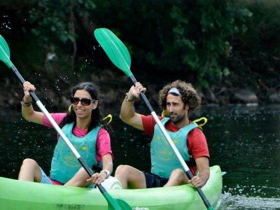 Descenso del Sella en canoa desde Arriondas Niños