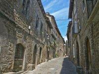 Calle historica en Ainsa