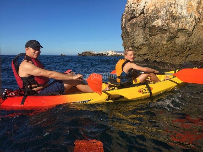 Excursión en kayak Parque Natural