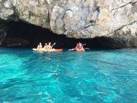 Kayak in Cerro Gordo Maro nature reserve 2 h