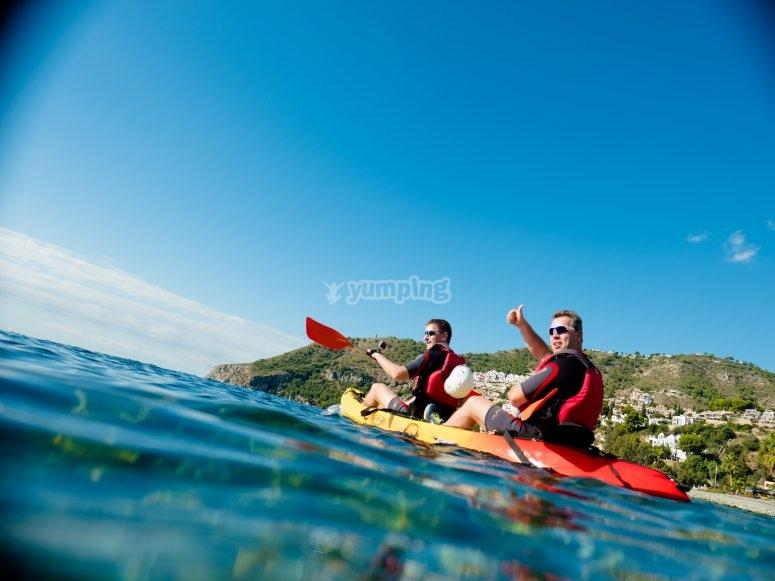 Kayak Acantilados de Cerro Gordo- Maro