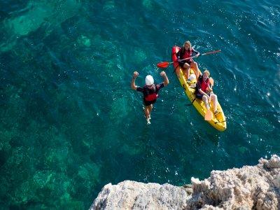 Coasteering and Kayak La Herradura beach 3 h 30 min