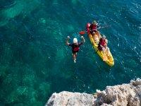 Coasteering y Kayak playa La Herradura 3 h 30 min