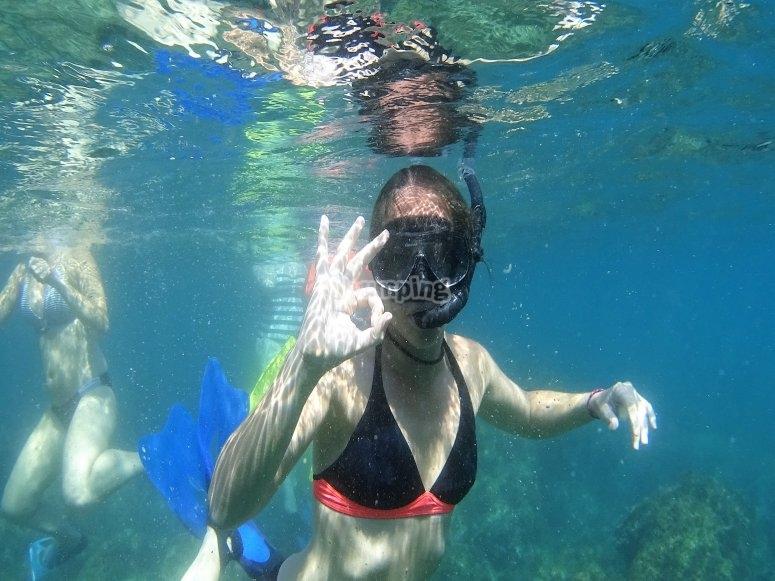 Snorkel en Granada