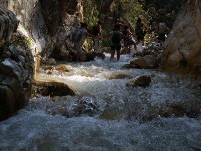 Senderismo Acuático Río Chillar 2 horas 30 min