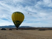 Come and fly on hot air balloon in Segovia