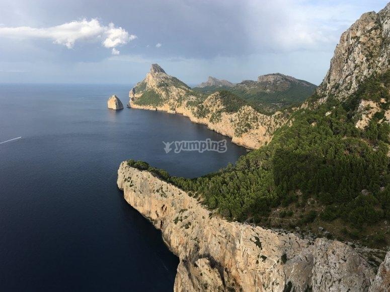 Acantilados Mallorca