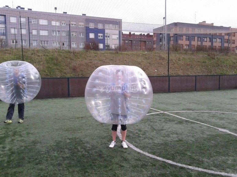 Nel gioco di calcio Bubble