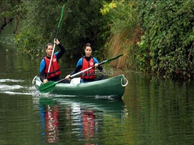 Kayak a due posti nel Sella