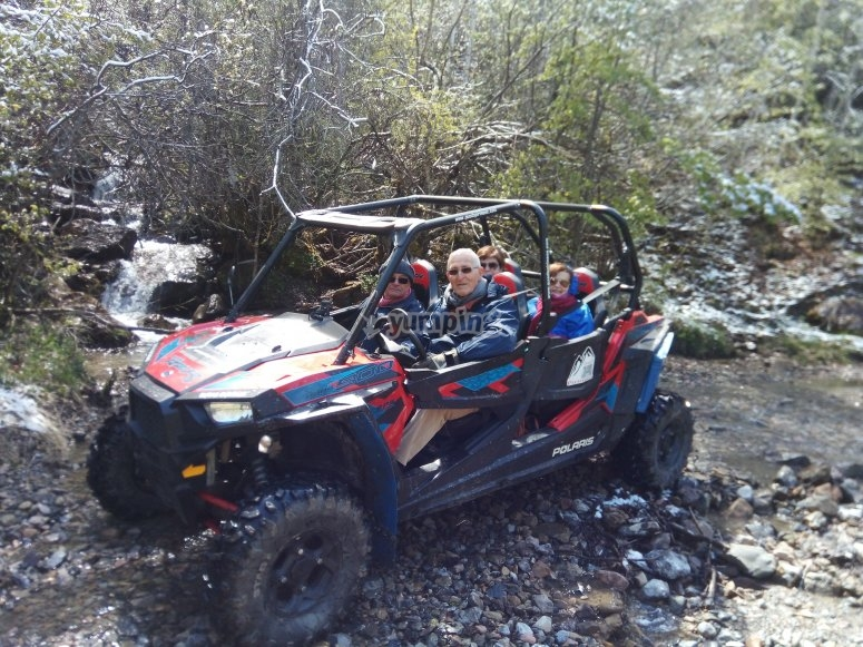 Salida en buggy con la familia