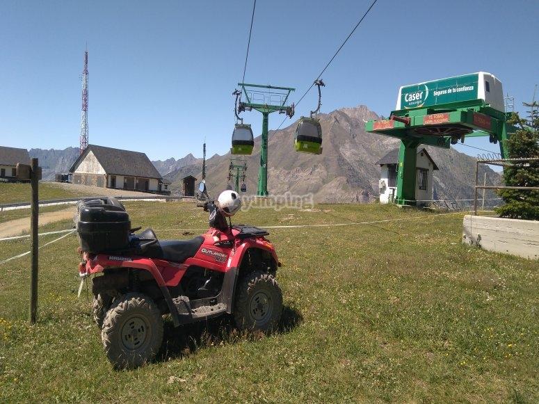 Ruta en quad Estación Esquí Panticosa