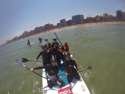 Paddle surfing tour in Asturias