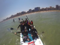 Paddle surfing tour in Asturias' coast 1 hour
