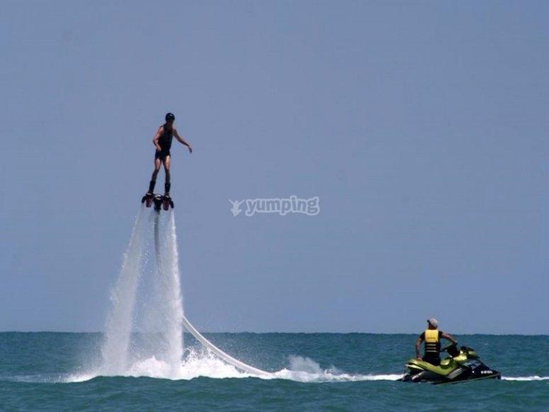 Flyboard en Oropesa del Mar