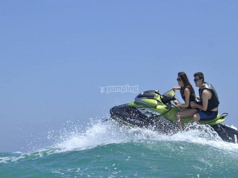 2人摩托艇