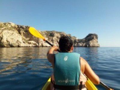 Alquiler kayak individual en las Islas Medas 2h