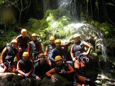Canyoning Zarzalones Yunquera di medio livello