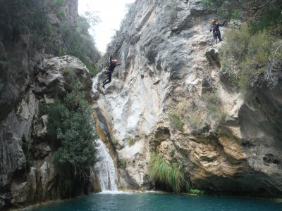 Barranco livello intermedio Río Verde Sierra Tejeda