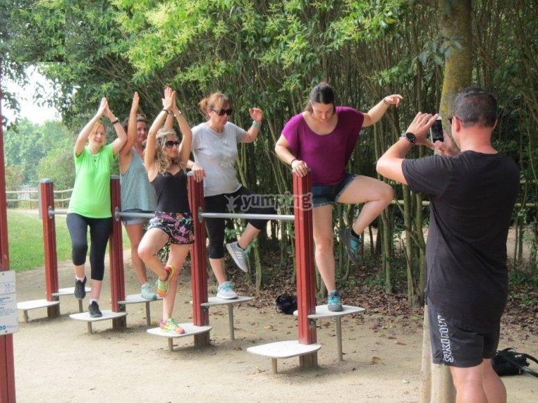 平衡小组活动