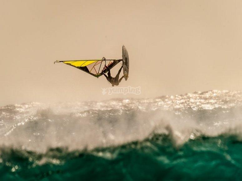 Windsurf en Málaga