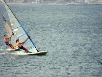 Clase de windsurf en Málaga 30 minutos