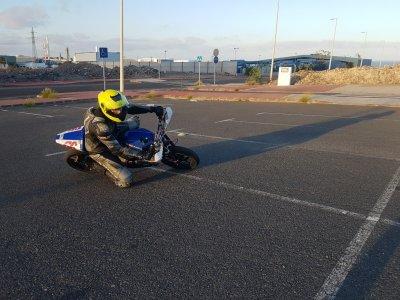 Curso conducción moto en Tenerife 1 hora
