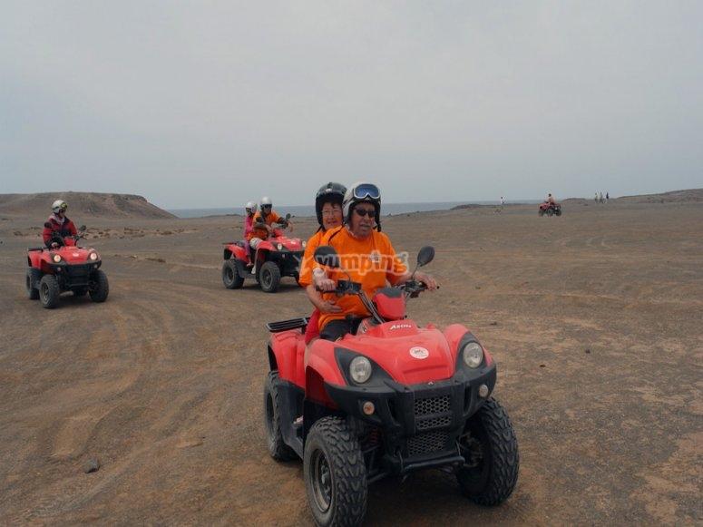 Rutas por el desierto