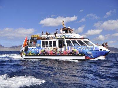 乘船游览JandíaNaturalPark儿童4小时