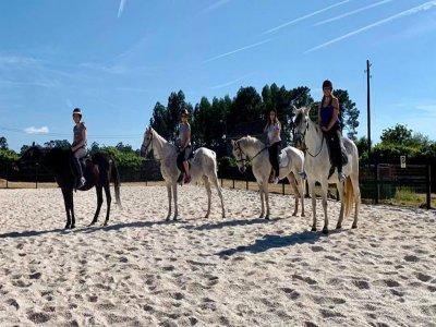 Ruta a caballo alrededores Vilanova de Arousa 1 h