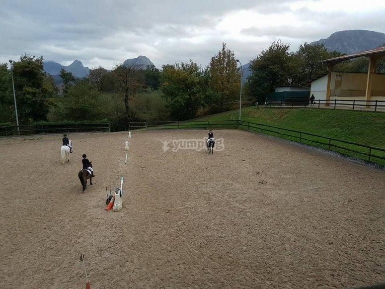 Equitación niños Bilbao