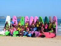 Somo的学校冲浪课程为2小时