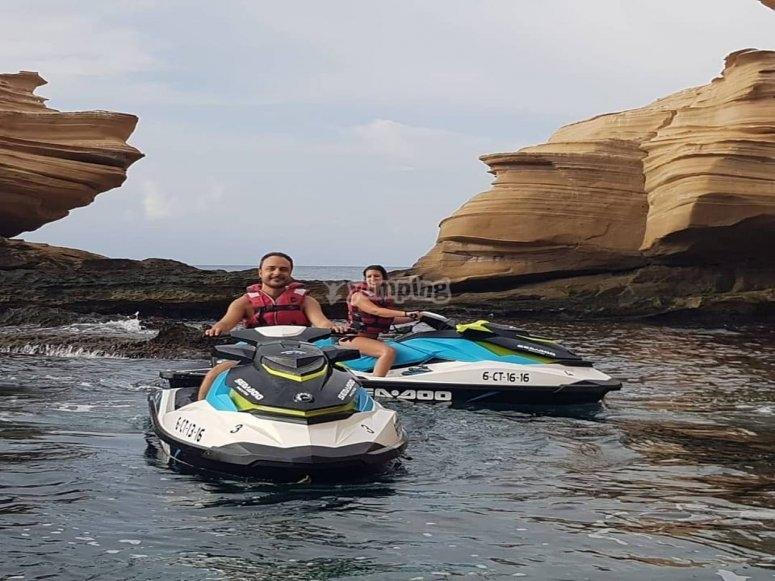 Excursión en moto de agua Alicante