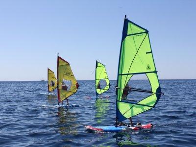 风帆冲浪小组课程Port Calanova 2小时