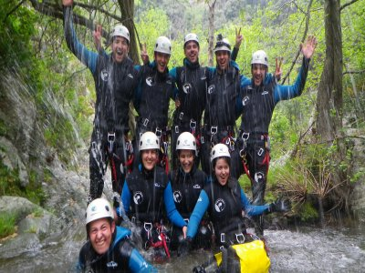 Canyoning for Team Buildings in Riera de Osor 4 h