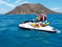 Excursión en moto de agua a isla de Lobos 40 min