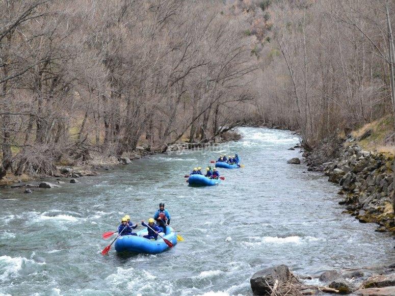 Descenso río Noguera Pallaresa