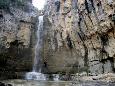 Canyoning medium level Les Espones 4 hours