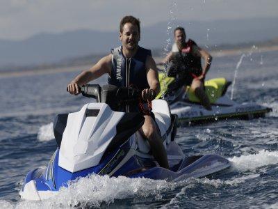 Ruta en jet ski sin licencia Illes Medes 15 min