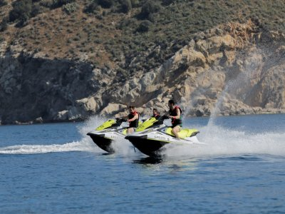 Jet ski route 45 min Estartit to Illes Medes