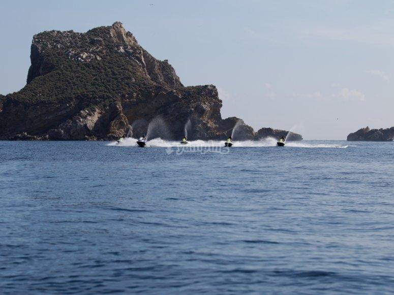 Navegando desde l'Estartit