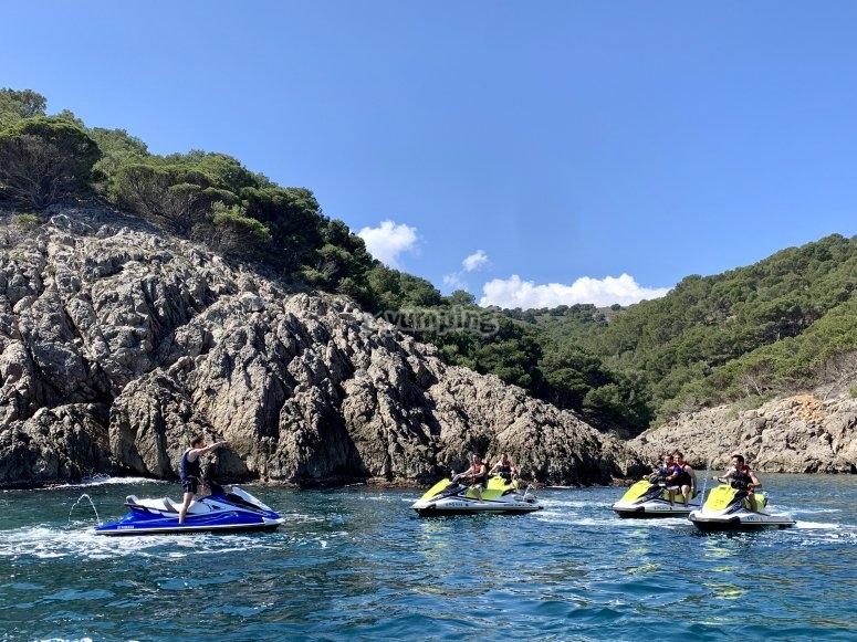 Aguas cristalinas Islas Medas