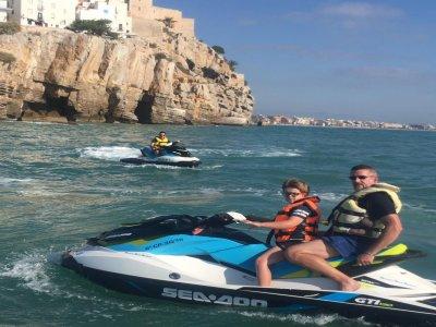 Alquiler moto de agua 40 minutos en Alcocébre
