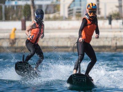 Bautismo de Jet Surf en Puerto de Alicante 30 min