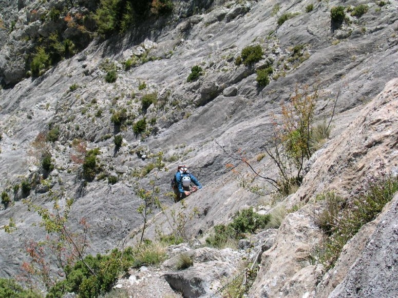 Vistas espectaculares del Pirineo durante nuestra ferrata